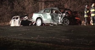 One Killed, Two Injured In Fiery Head On Crash In West Chicago
